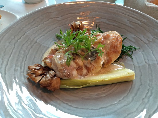 アロフト銀座 本日の魚料理