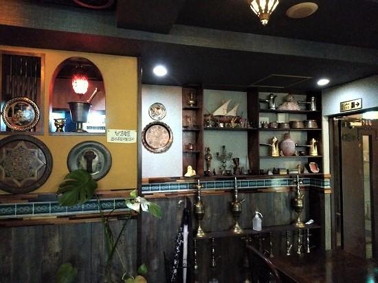 ゼノビアカフェ 麻布十番 店内