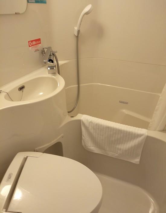 バスルーム スーパーホテル弘前