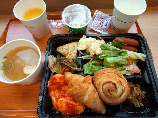 朝食 スーパーホテル弘前