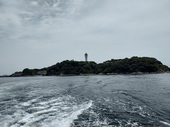 江ノ島全景 葉山クルージング