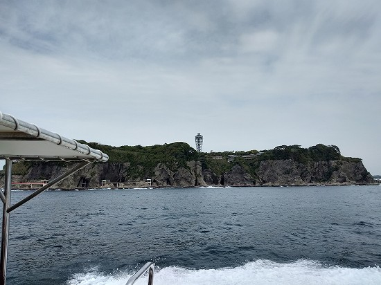 江ノ島灯台 葉山クルージング