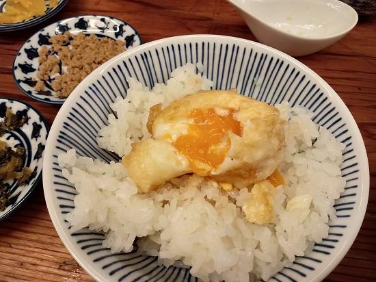 蒲田 天ぷら すずき 半熟卵天