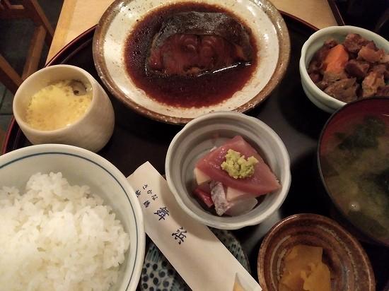 銀鱈の煮付け定食 舞浜 新橋ランチ