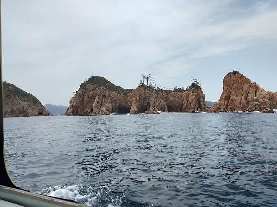 コウモリ洞 青海島クルーズ
