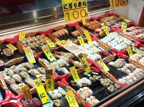 唐戸市場 100円寿司
