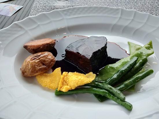 国産牛頬肉の赤ワイン煮込み 銀座カシータ ランチ