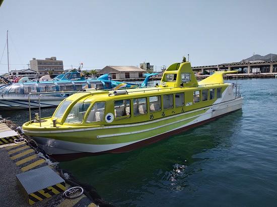 青海島遊覧船