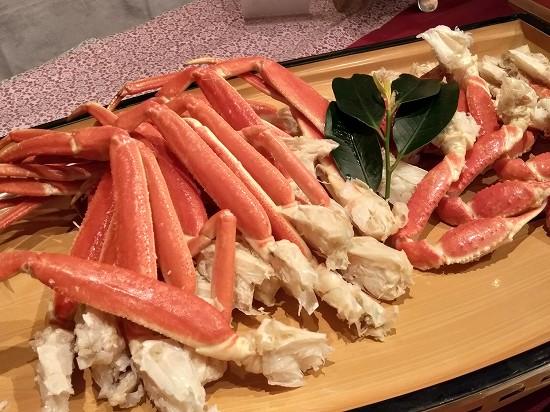 かに_湯本観光ホテル西京夕食