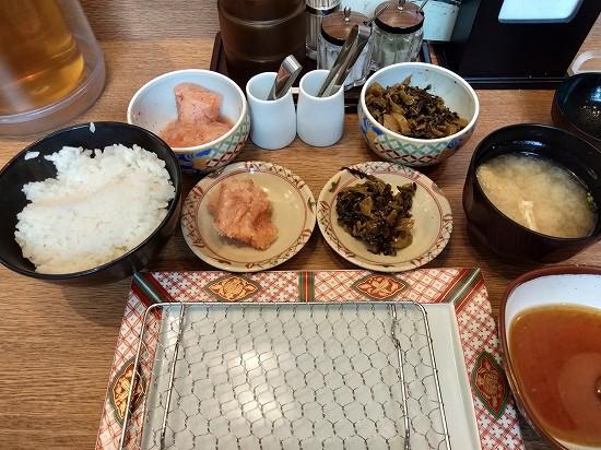 ご飯とお味噌汁_博多天ぷらやまみ