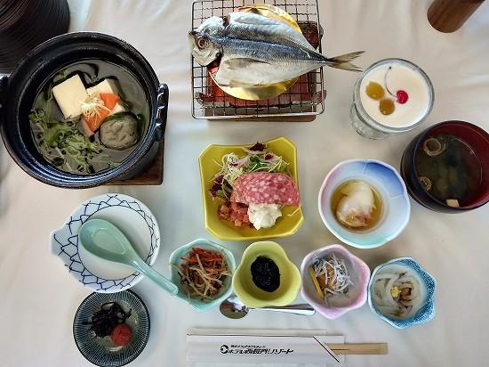 ホテル西長門リゾート 朝食