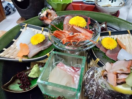 刺身 西長門リゾート 夕食