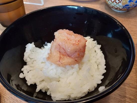 明太子ご飯_博多天ぷらやまみ