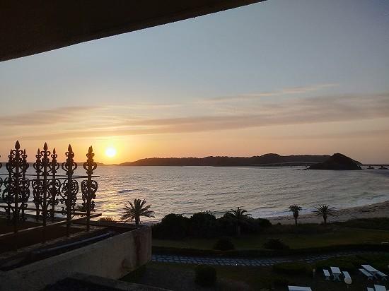 西長門リゾート 夕陽