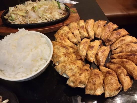 夕食_照井餃子福島