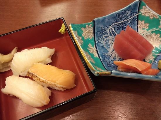 寿司と刺身_御宿東鳳夕食バイキング